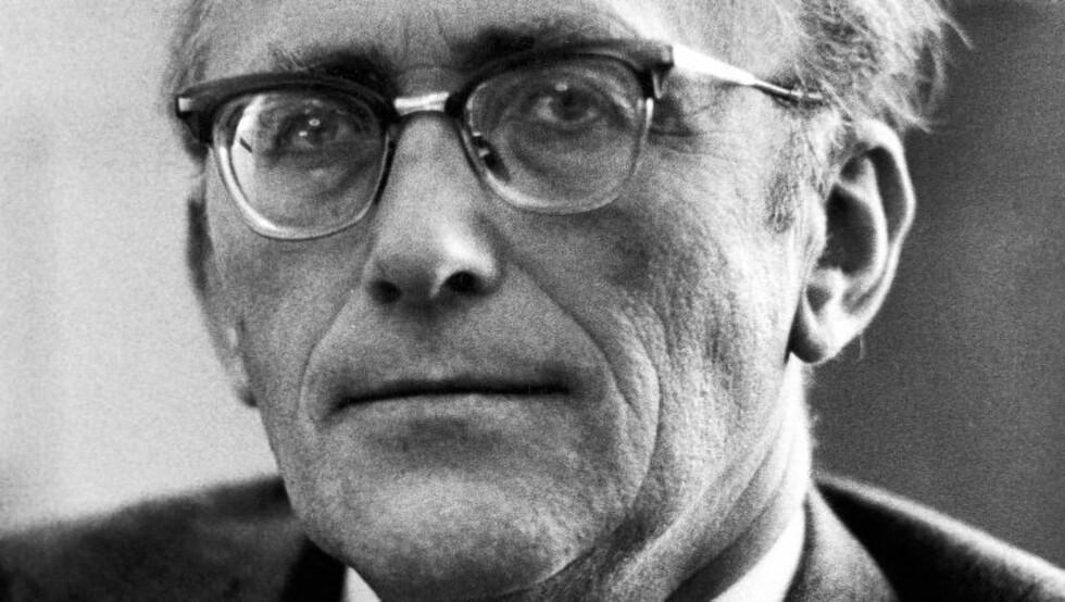 LEDENDE NEI-FIGUR: Lønns- og prisminister Gunnar Bøe skal ifølge Mitrokhin-arkivet ha fått penger fra KGB i bytte mot hemmelige dokumenter. Han var en av Norges mest kjente Nei-profiler på 60- og 70-tallet. Foto: NTB SCANPIX