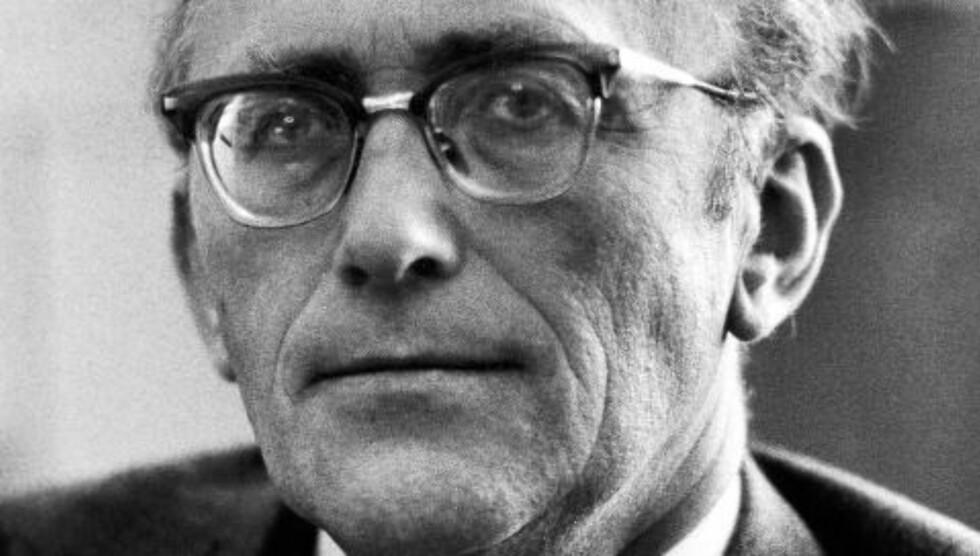 NAVNGIS SOM SPION: Fredag skrev Dagbladet at Gunnar Bøe under dekknavnet «Mono» skal ha gitt KGB graderte dokumenter i bytte mot over en million kroner (i dagens kroneverdi) i perioden 1960 til 1963. Foto: NTB SCANPIX