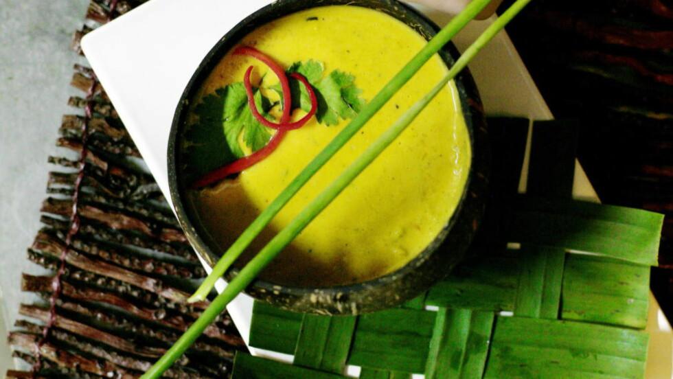 HOT OG SØTT: Asiatisk mat har ofte sterke smaker som chili, men også søte som kokosmelk, som vinen må passe til.  Foto: NINA RUUD