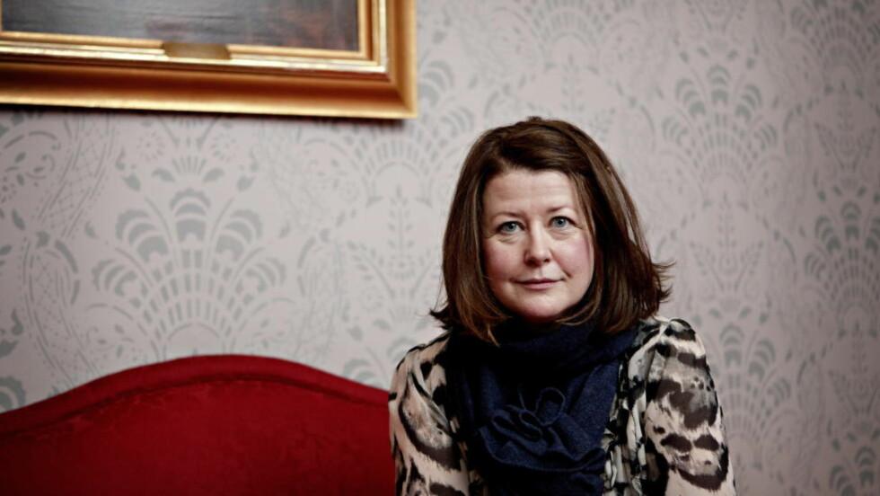 UTFORDRES: Teatersjef Hanne Tømta ved Nationaltheatret vil ikke ha kulturell boikott av Israel. Foto: Lars Eivind Bones / Dagbladet