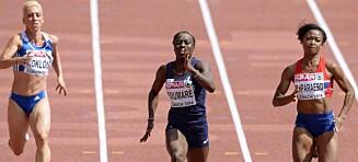 Ingen EM-finale på Ezinne Okparaebo