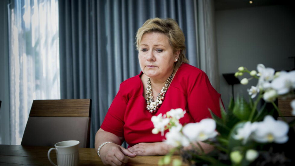 «HAR DE LEVERT?» Erna Solberg har ledet landet i elleve måneder. Flere er misfornøyd. Foto: Christian Roth Christensen / Dagbladet