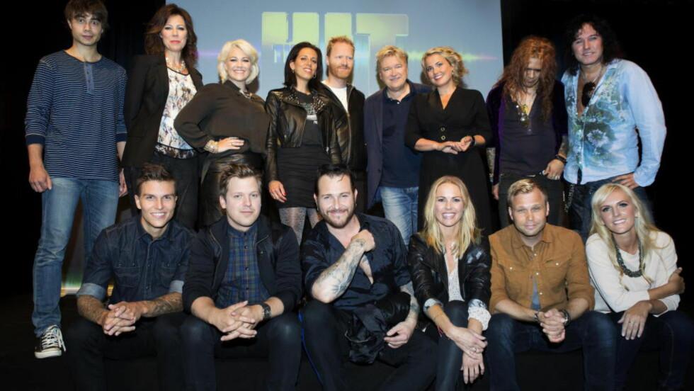 SKAL DELTA: I «The Hit». Foto: Nina Hansen / Dagbladet