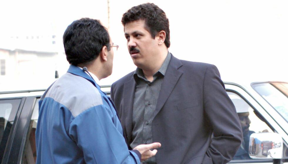 PRESIDENTSØNN: Mehdi Hashemi, sønn av Irans eks-president Akhbar Hashemi Rafsanjani, er nå tiltalt for revolusjonsdomstolen i Teheran. Foto: Abbas Kowsari / Bloomberg / Getty Images