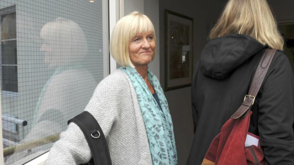 VILLE IKKE MER: Utdanningsforbundets leder Ragnhild Lied avsluttet seint i kveld meklingen med Kommunenes Sentralforbund (KS). Foto: Terje Pedersen / NTB Scanpix