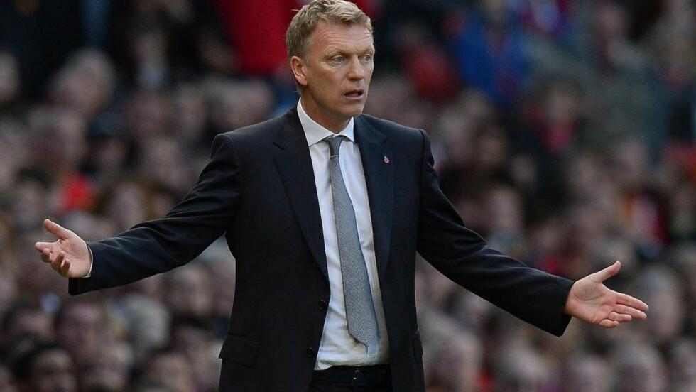 TIL CRYSTAL PALACE?: David Moyes mislyktes med Manchester United, men kan få en ny sjanse i Premier League nå.Foto: AFP PHOTO/ANDREW YATES/NTB Scanpix