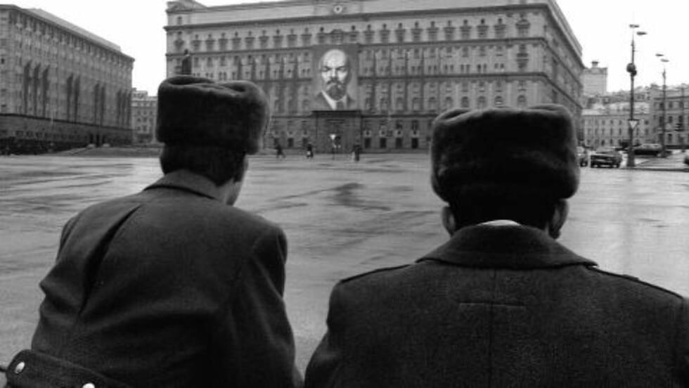 - DRAP OG SABOTASJE: «Gratsjov» fikk ordre fra 13. avdeling i KGB. Ifølge CIA hadde 13. avdeling ansvar for å utføre spesielle operasjoner, «som kidnapping, drap og sabotasje». Her fra KGB-hovedkvarteret i Moskva 1990. Foto: AFP/ALEXANDER NEMENOV/NTB SCANPIX