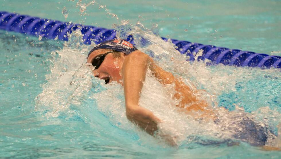 TOK BRONSE: Henrik Christiansen svømte inn til tredjeplass i ungdoms-OL. Foto: MAJA SUSLIN / NTB scanpix