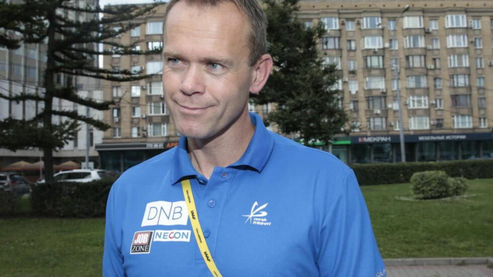 TAR ANSVAR: - Vi kunne ha levert bedre, og det er mitt ansvar, sier en selvkritisk Ronny Nilsen. Foto: Lise Åserud / NTB scanpix