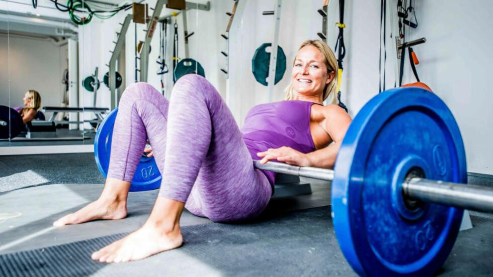 TRENINGSPROGRAM:   Annema Refsnes, personlig trener ved Studioday, og treningsekspert i magasinet Stella har satt opp et seksukers treningsprogram som vil få deg i form, inspirert av høstens trender. Foto: THOMAS RASMUS SKAUG