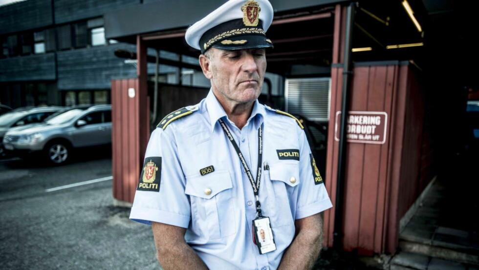 KALLER INN: Bjørn Egil  Bergundhaugen vil ikke si noe før pressekonferansen. Foto: Thomas Rasmus Skaug / Dagbladet