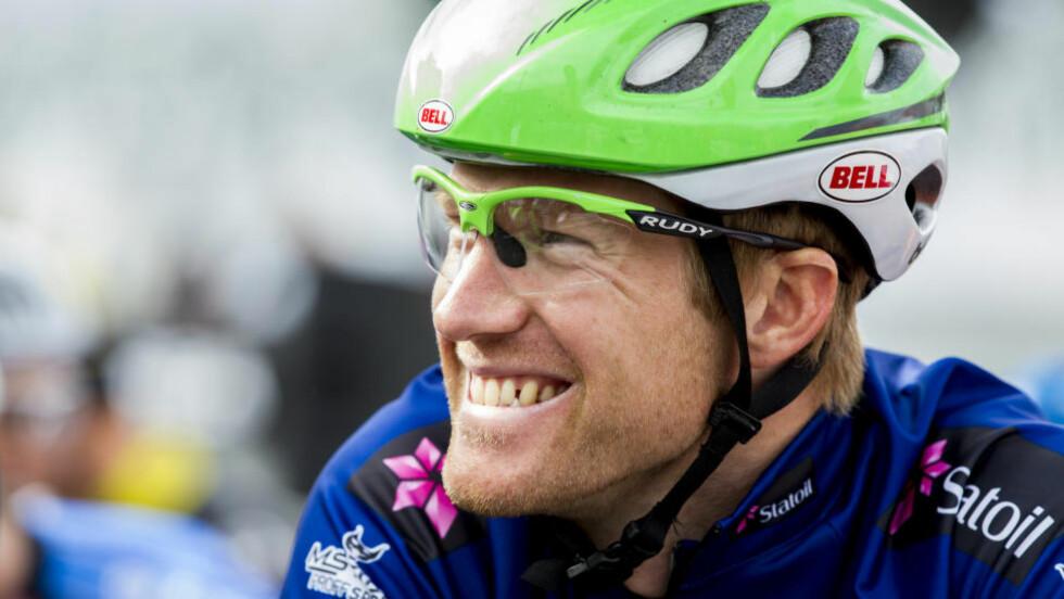 FÅR SLIPPE: Lars Petter Nordhaug håper tre ritt i Canada skal gi ham en bedre VM-oppkjøring enn Vuelta a Espana hadde blitt. Foto: Vegard Wivestad Grøtt / NTB scanpix