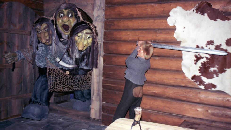 INGEN FRYKT: Espen Askeladd var ikke redd for troll. Det behøver ikke du være heller, verken for troll eller for mennesker som kanskje ikke vil deg vel. Foto: NTB SCANPIX