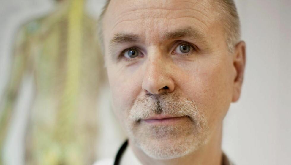 MISTET AUTORISASJONEN: Rolf Luneng drev Norsk Borreliose Senter i Oslo. Arkivfoto: Espen Røst / Dagbladet