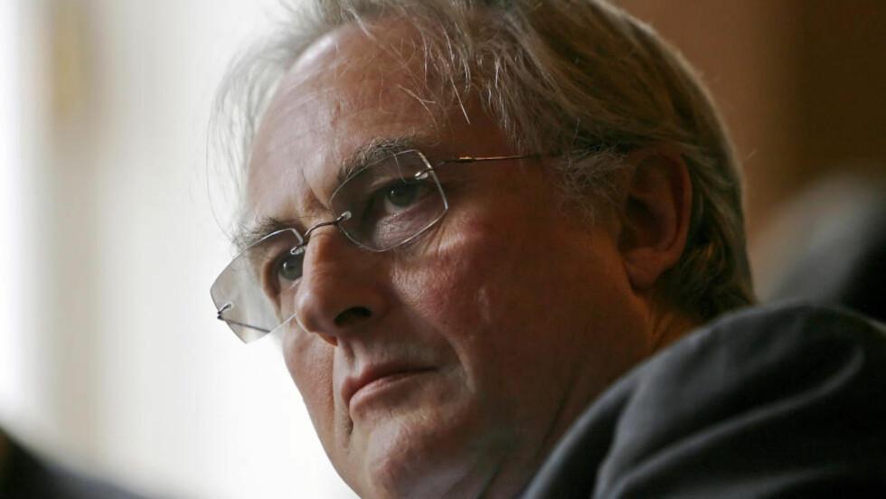 KONTROVERSIELL: Richard Dawkins. Foto: AFP / Leon Neal / NTB scanpix