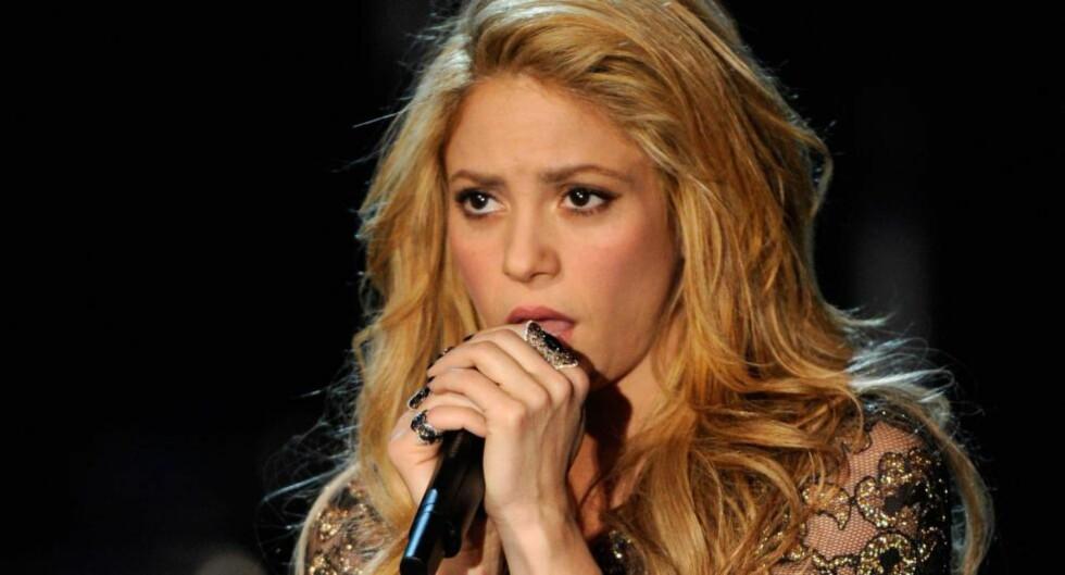 DØMT I RETTEN:  Shakiras låt «Loca» er felt i retten, da dommeren hevdet den er kopiert av en dominikansk låtskriver. Foto: Ethan Miller/Getty Images/AFP