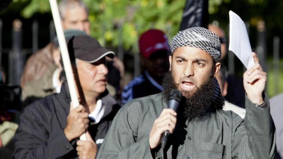 PROVOSERER: Uttalelser fra Profetens Ummah, her ved Ubaydullah Hussain, provoserer mange norske muslimer.