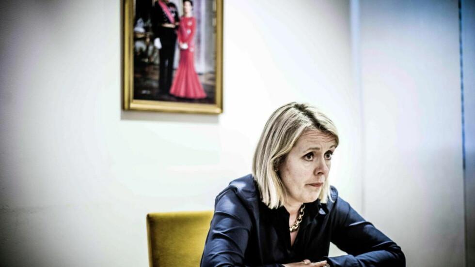 VIL KARTLEGGE: PST-sjef Benedicte Bjørnland vil kartlegge nordmenns aktivitet på internett. Foto: Thomas Rasmus Skaug / Dagbladet