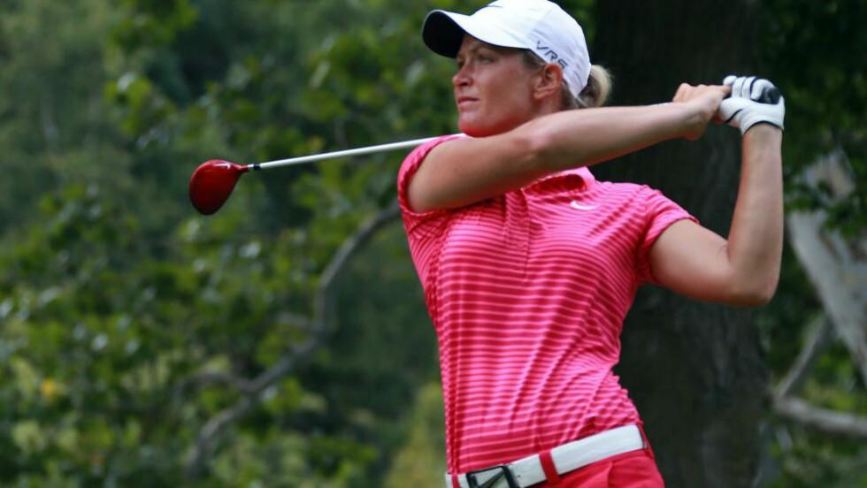 GOD START: Suzann Pettersen fikk en god start under Canadian Open. Foto: Dave Sandford/Getty Images/AFP