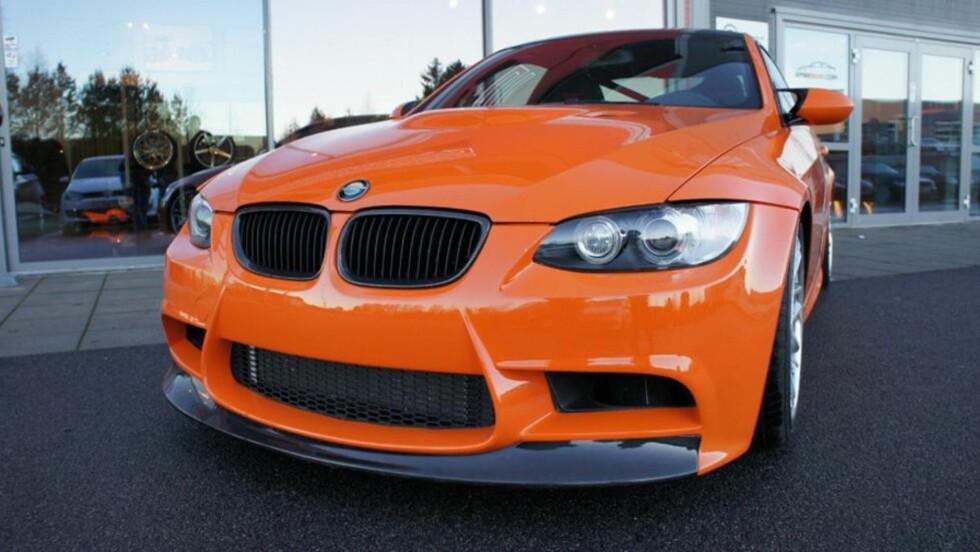 «KJENDIS»-BIL: Denne BMW-en har fått sine minutter i rampelyset som følge av rollen i filmen «Børning». Nå ligger den ute for salg - og forhandleren har allerede fått napp. Foto: Privat