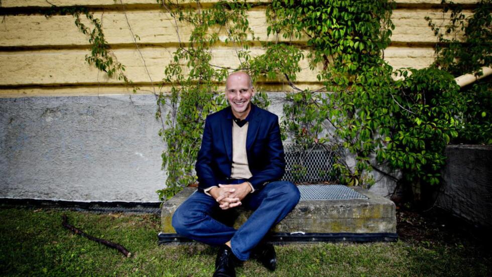 PÅ VEI: Geir Lippestad fotografert på vei til jobbreise til Stavanger. Foto: Anita Arntzen / Dagbladet