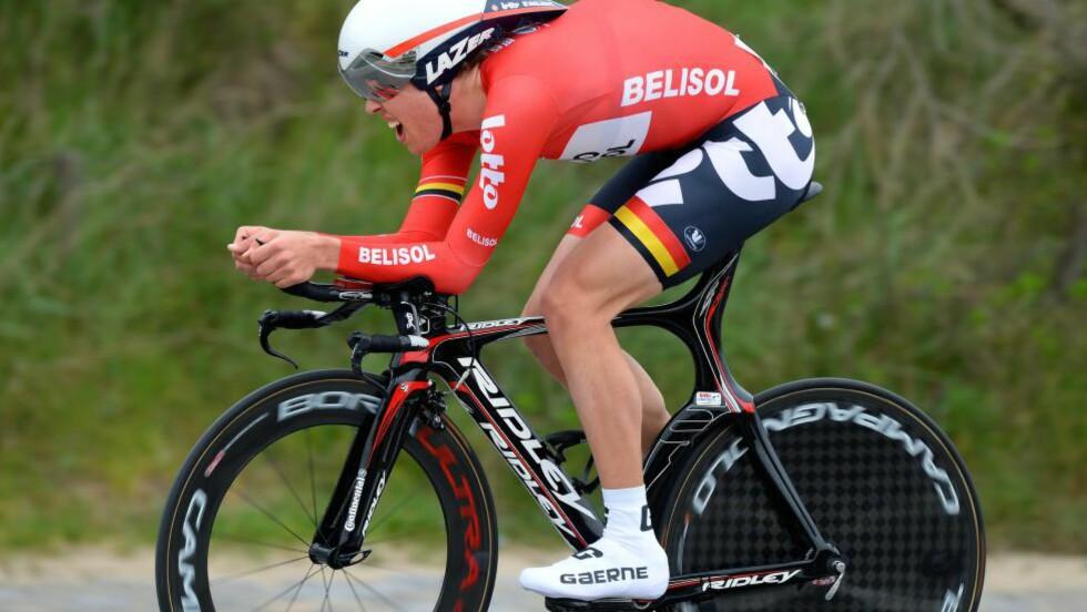 GJENNOMBRUDDET: Vegard Breen har vist seg som en svært god tilvekst for Lotto-Belisol. Nå skal han herdes ytterligere ved å kjøre Vuelta a España. FOTO: Tim De Waele/TDWSPORT.COM