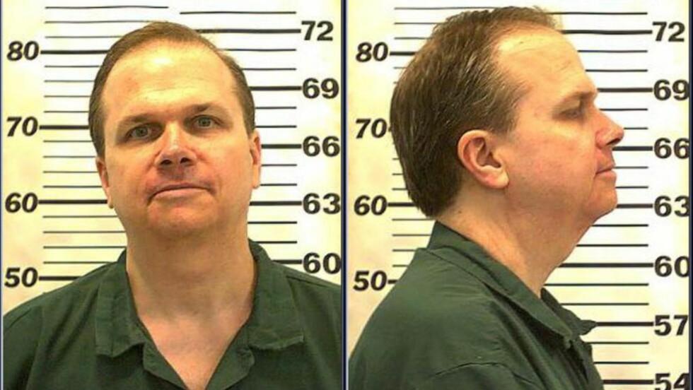 FIKK AVSLAG: Mark David Chapman søkte om prøveløslatelse for åttende gang. Foto: EPA/NYSDOCS/NTB Scanpix