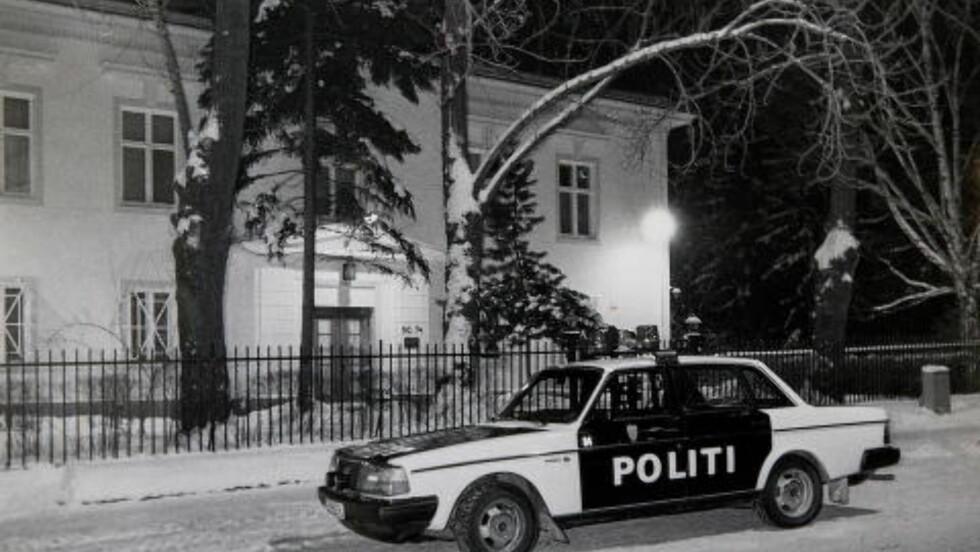 IKKE PARANOIA: «KGB-arkivet bekrefter at det ikke dreide seg om paranoide fantasier», skriver forfatter Alf R. Jacobsen. Her fra den sovjetiske ambassaden i Oslo.  Foto: ANNELISE JACKBO/DAGBLADET