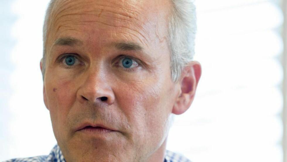 SKURKEFANGER: Kommunal-, moderniserings- og boligminister Jan Tore Sanner. Foto: Thomas Haugersveen NTB/Scanpix