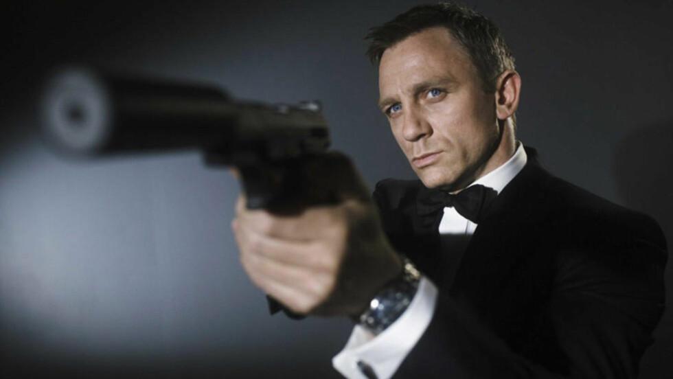 DRAR TIL «NORGE»? Innspillingen av neste James Bond-film med Daniel Craig i hovedrollen er snart i gang. Det kunne foregått i Norge, men ser nå ut til å i stedet finne sted i Østerrike. Foto: MGM