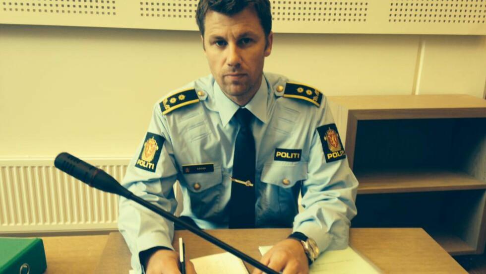 PÅTALEMYNDIGHET: Politiadvokat Frode Aabak var aktor i tilståelsessaken i Gjøvik tingrett i dag mot økonisjefen som har innrømmet å ha underslått 20,9 millioner kroner. FOTO: ØYSTEIN ANDERSEN / DAGBLADET .