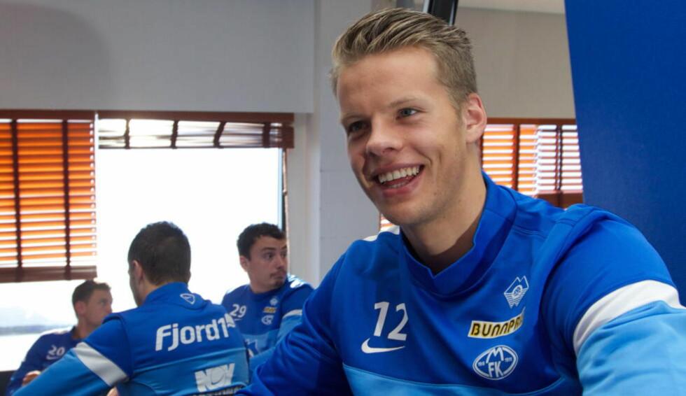 BLIR KLAR TIL BRANN LØRDAG: Ørjan Håskjold Nyland trenger hvile, og står over landskampen mot Emiratene i Stavanger i morgen.