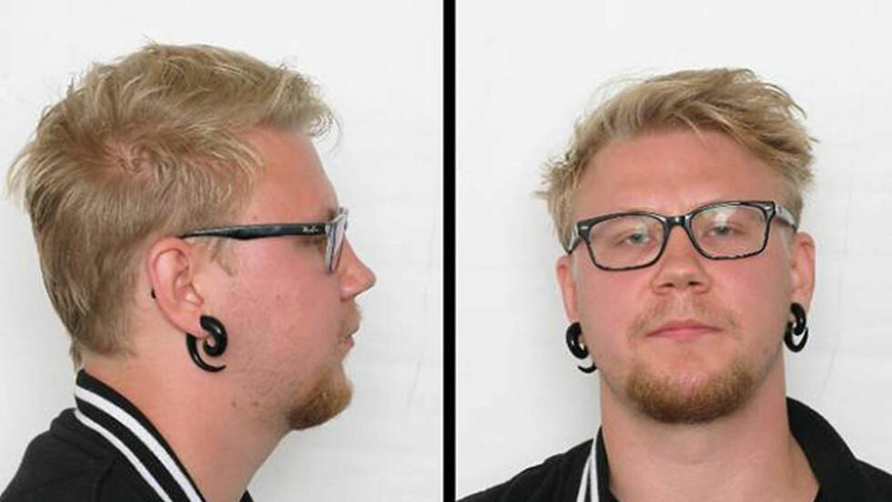 I ROTTERDAM: Drapssiktede Kim Andreas Kristiansen (23) meldte seg for nederlandsk politi mandag. Han ønsker Geir Lippestad som forsvarer når han blir utlevert til Norge. Foto: Politiet / NTB scanpix