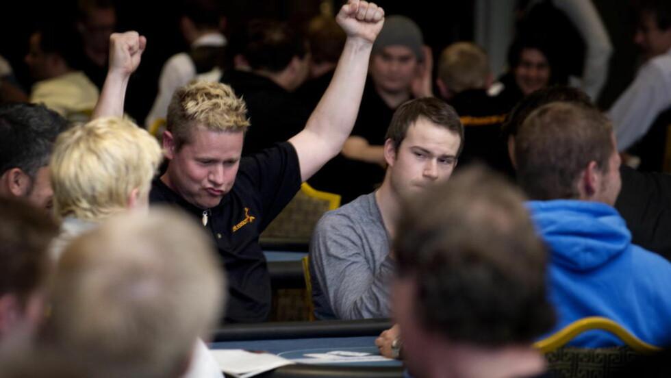 LOV I NORGE? NM i poker ble i 2012 arrangert i Dublin, i framtiden kan det muligens skje i Norge. Arkivfoto: Øistein Norum Monsen / DAGBLADET