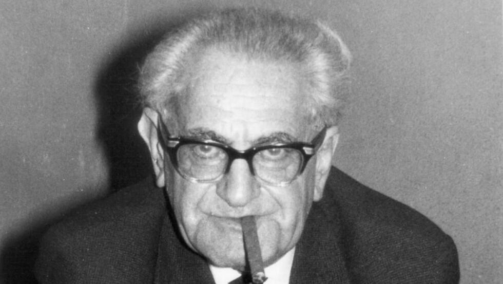 VIKTIG ETTER KRIGEN: Fritz Bauer ble en viktig mann da Tyskland tok oppgjør med Holocaust. Foto: Fritz Bauer Institute.