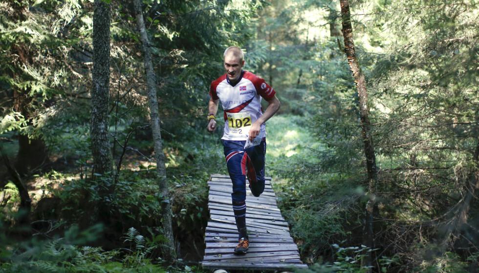 SIKRET EM-GULL: Olav Lundanes. Foto: Adam Ihse/TT / NTB scanpix