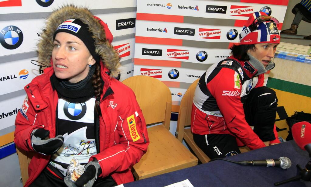 VONDT Å TAKLE: Fra OL i 2010 har Justyna Kowalczyk stadig oftere blitt fragått av Marit Bjørgen. Det har vært vanskelig for Justyna å akseptere uten forklaringen om at Marits nye astmamedisin har en prestasjonfremmende effekt. FOTO Lise Åserud / Scanpix.