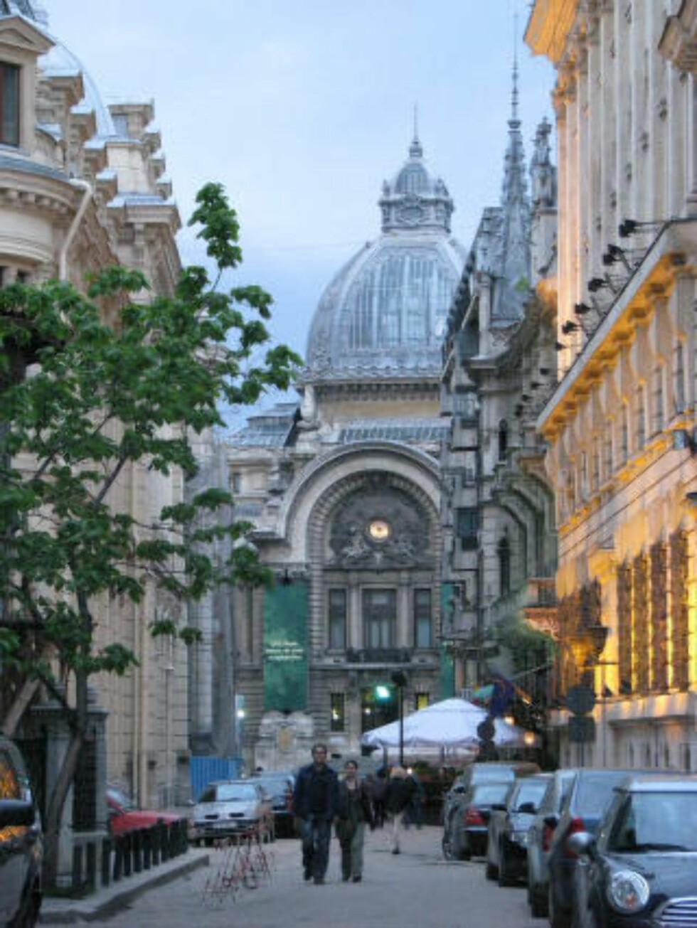 BUCURESTI: Byutviklerne hadde Paris som forbilde da i den rumenske hovedstaden vokste for alvor på 1800-tallet. Resultatet er storslåtte bulevarder og avenyer. Foto: ROMANIA TOURISM