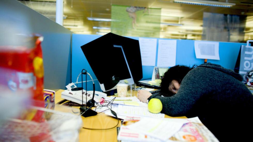 SJEF I EGET LIV? «Bli sjef i eget liv» er et populært utsagn, men de fleste av oss er ikke sjefer — I hvert fall ikke på jobben, skriver kronikkforfatteren.  Illustrasjonsfoto: Sara Johannessen / NTB Scanpix