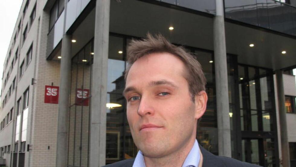 TAUS:  Informasjonssjef Martin Bernsen i PST ønsker ikke å si noe om nordmennene som er drept i Syria. Foto: Gunnar Hultgreen / Dagbladet