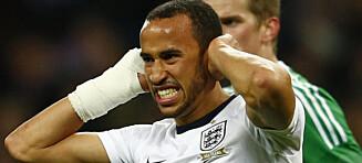 Andros Townsend mister fotball-VM til sommeren