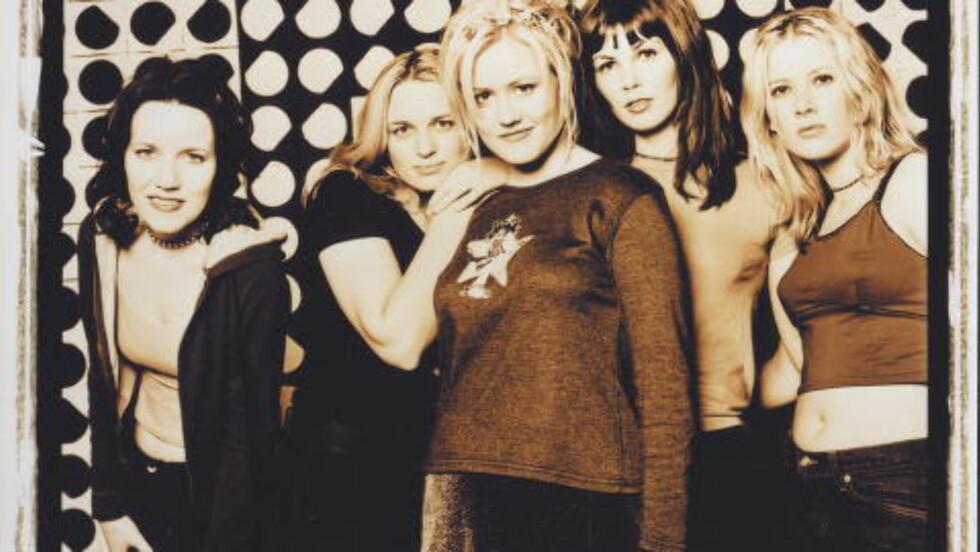 MER ENN EN TIRSDAG PÅ BILLBOARD: The Tuesdays, med Laila Samuelsen i midten, var innom Billboard-lista på slutten av 90-tallet.