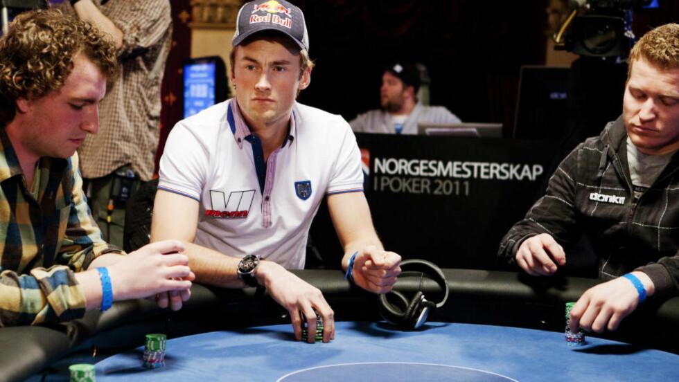 FORTSATT SPONSOR: Petter Northug reiser ikke på pokertur til Las Vegas i juni, men får fortsatt Vi Menn som sponsor. Foto: Tore Meek / Scanpix