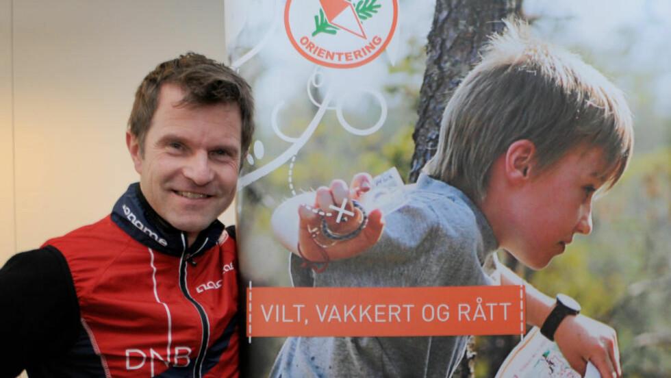 GIR SEG: Bjørnar Valstad ønsker nye utfordringer, og har sagt opp sin stilling som generalsekretær i Norges Orienteringsforbund.