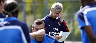 Wenger frykter ikke for jobben med tap i FA-cupfinalen