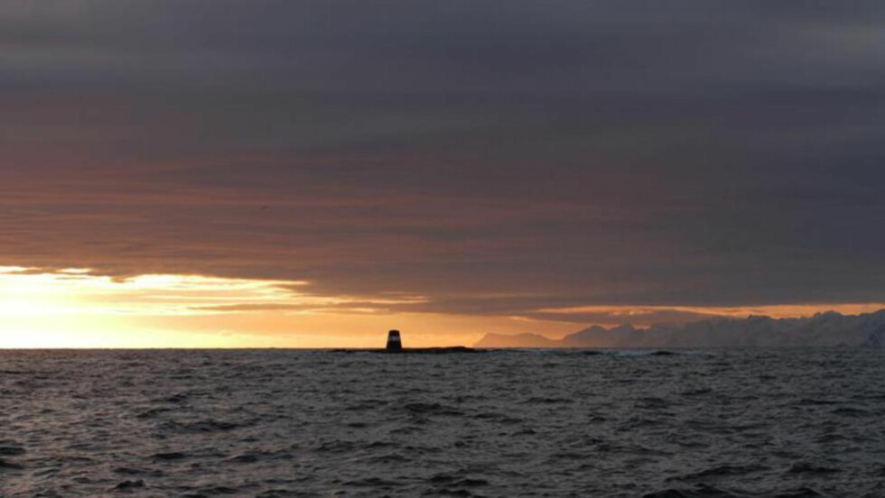 MAGISK: Nathional Geographic beskriver Lofoten som et magisk reisemål, og trekker fram midnattsola som et sterkt argument for å reise på midnattsafari i Nord-Norge til sommeren. Foto: Lofoten opplevelser