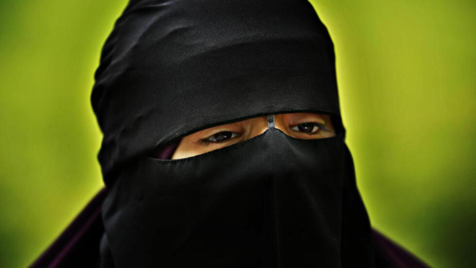 SHARIASTAT: Hun er norsk, kaller seg Umm. Hun ønsker å leve etter sharialovene i Norge. Foto: JACQUES HVISTENDAHL