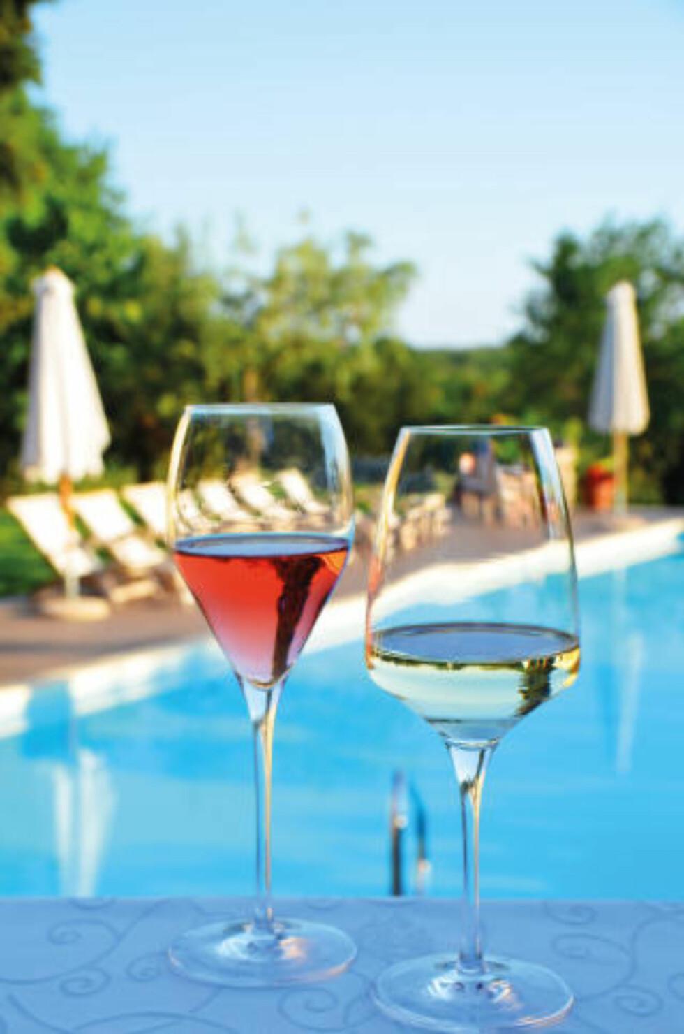 DET GODE LIV: Det lille hotellet San Rocco i Brtonigla er kåret til Kroatias beste boutiquehotell flere ganger. Og her kan du absolutt nyte livets glade dager. Foto: MARTE VEIMO