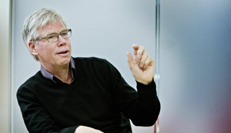 OPTIMIST: Leif Øverland ble ansatt som direktør i Norsk Toppfotball ved årsskiftet. Foto: Nina Hansen