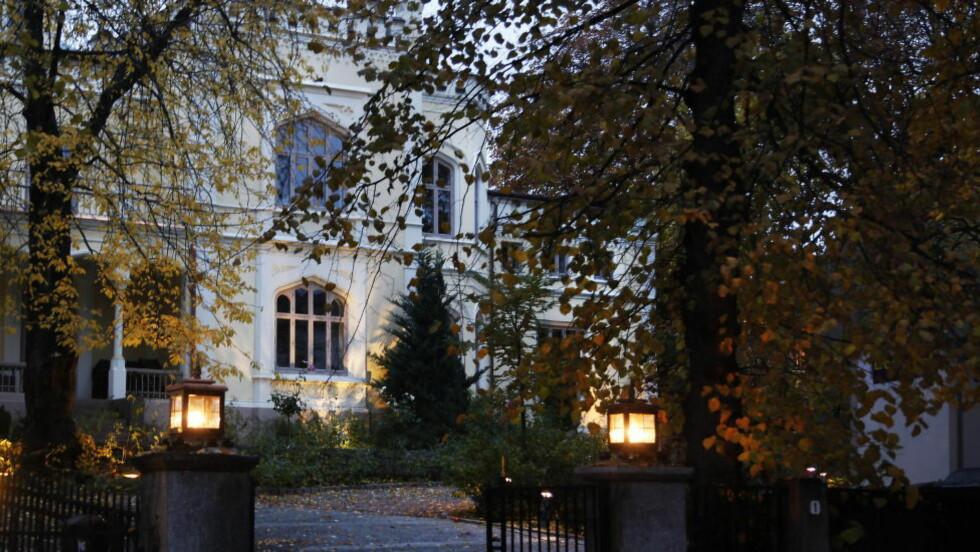 HEMMELIG: First House holder til i dette bygget i Parkveien i Oslo. De får sterk kritikk for sine hemmelige kundelister. Foto: Torbjørn Berg / Dagbladet
